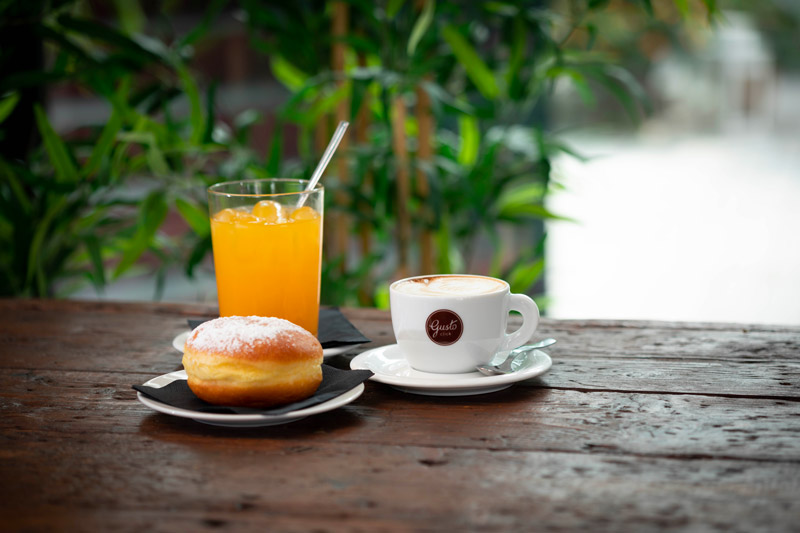 Pausa caffè di lavoro nel comune di Venezia