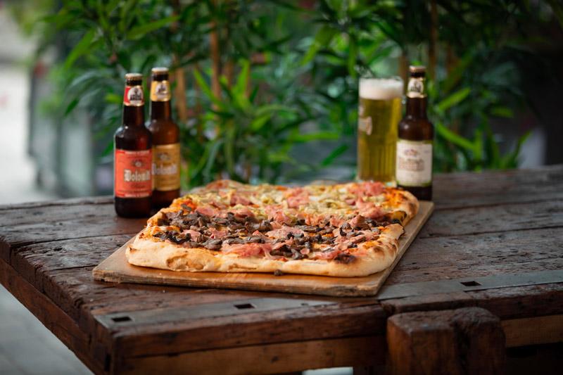 Pizza da asporto per pranzi di lavoro